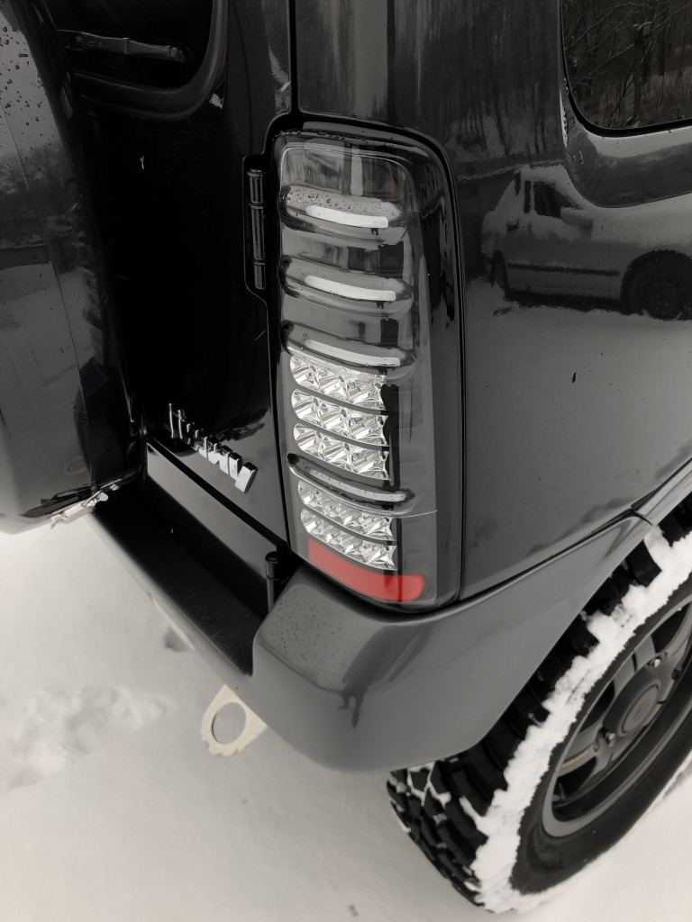 MBRO BLACK LED для Suzuki Jimny JB23/33/43