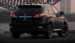 Lexus RX в тюнинг оптике