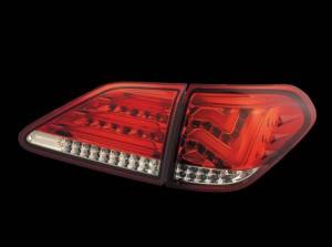 Задние тюнинговые стопы на Lexus RX